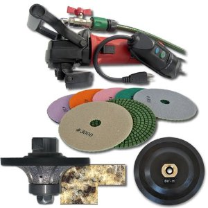 SECCO 34WVPOLSET 3/4-Inch Radius Wet Polisher Kit