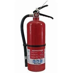 First Alert FE3A40GR Heavy Duty Plus Fire Extinguisher Red