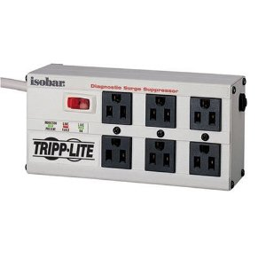 Tripp Lite ISOBAR6ULTRA 6-Outlet Isobar Premium Surge Protector  (2350 Joules)