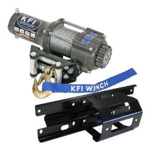 KFI ATV 2500lb Winch COMBO-KIT for a 2005-2010 Polaris Sportsman, X2, and Touring