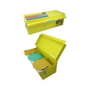 Dent Fix (DENDFSB100) Sand Box' Protective Sand Paper Dispenser