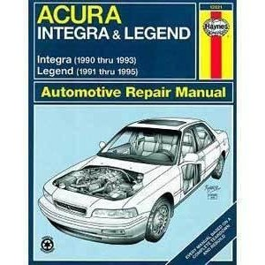 Haynes 12021 Integra 90-93,Legend 91-5