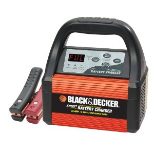Black & Decker VEC1087CBD Smart Battery 10/6/2 Amp Battery Charger