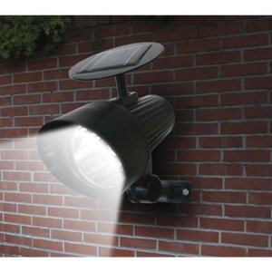 Sunforce Solar 4-LED Ultra-Bright Floodlight, Model# 86311