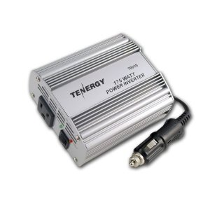 Tenergy 175W DC to AC Power Inverter with 1 AC Outlet