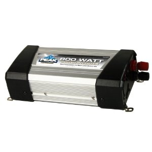 PEAK PKC0BD-02 800 Watt Power Inverter With 2 A/C Outlets
