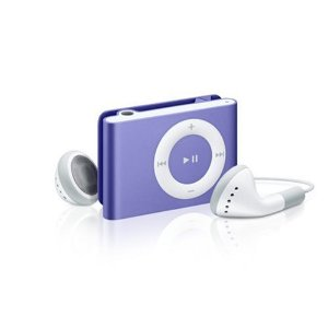 Apple iPod shuffle 2 GB Purple (2nd Generation) OLD MODEL