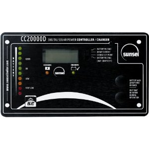 Sunsei SE-CC20000D 20 Amp Digital Display Solar Charge Controller #11002