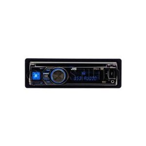 JVC KD-A605 - Radio / CD / MP3 player / USB flash player - Arsenal - Full-DIN - in-dash - 50 Watts x 4