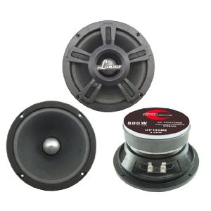 Lanzar - OPTI6MI; Opti Pro 500 Watts 6.5'' High Power Midbass Speaker
