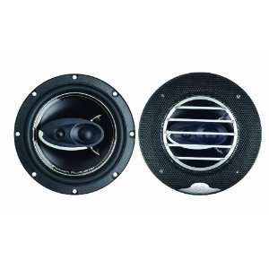 Power Acoustik XP-653K 6.5-Inch Three-Way Full Range Speaker