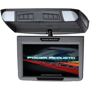 Power Acoustik PT-91CM 9-Inch Widescreen Overhead Monitor with Dual Inputs