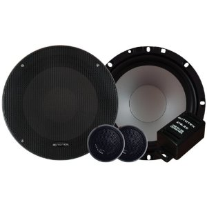 Autotek Super Sport AT Series AT6.2C 6.5-Inch 2-Way Component Speaker (Black)