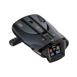 Cobra XRS 9960G Voice Alert 15-Band Radar/Laser Detector with 1.5-Inch Full-Color Display, GPS Locator, and Red Light/Speed Features