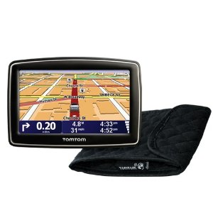 TomTom XL 340S 4.3-Inch Portable GPS Navigator Bundle with Case