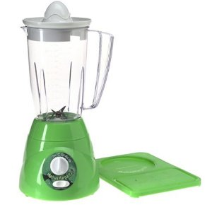 Hamilton Beach 58150 Muchas Margaritas Fiesta Blender with Cutting Board, Lime Green