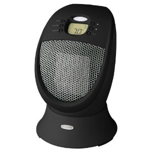 Honeywell HZ-338 Sure-Set Ceramic Heater with Oscillation