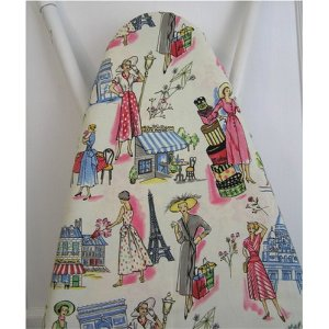 Hestia Houseworks Ironing Board Cover Spring Time in Paris