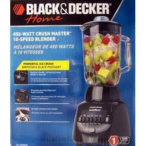 BLACK & DECKER 10 SPEED CRUSH MASTER BLENDER