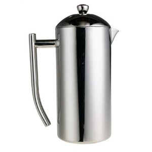 Frieling French Press Ultimo 34oz ~ Insulated Stainless Steel Coffee Press ~ 8 Cup