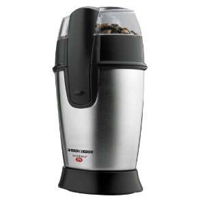 Black & Decker CBG100S Smartgrind Coffee Grinder, Stainless Steel