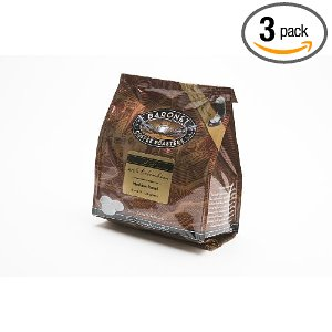 Baronet Coffee Decaf 100% Colombian Medium Roast (140 g), 18-Count Coffee Pods (Pack of 3)