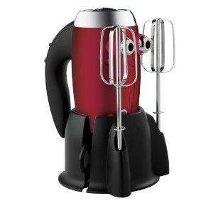 Sunbeam Heritage Series 6 Speed 250-Watt Hand Mixer with Vertical Display Stand