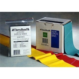Thera-Band Latex Free Exercise Bands - 25 Yards