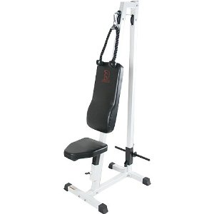 Spartan Sports Ab Crunch & Tricep Pull Down - Removable Seat