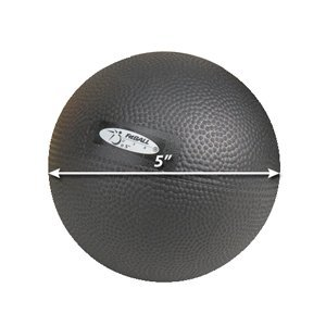 FitBALL Body Therapy Ball Beginner Black 7