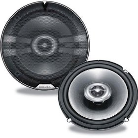 Kenwood KFC 1690ie - Car speaker - 50 Watt - 2-way - coaxial - 160mm