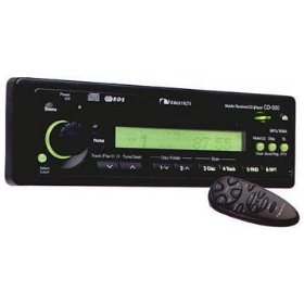Nakamichi CD-500 - Radio / CD / MP3 player - Full-DIN - in-dash - 47 Watts x 4