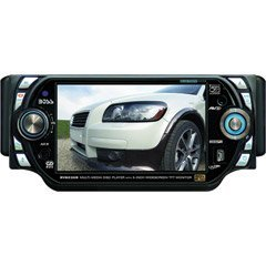 Boss BV8235B 5-Inch In-Dash Widescreen Touchscreen TFT Monitor/DVD/MP3/CD Receiver with Bluetooth