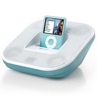 Memorex MI2032-TEAL Speaker System for iPod
