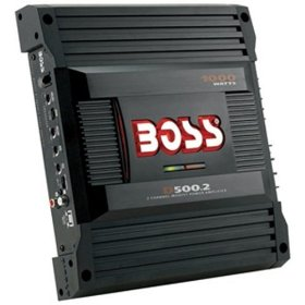 Boss Audio D500.2 Diablo 2-Channel Mosfet Bridgeable Power Amplifier