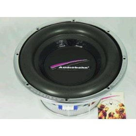 AudioBahn Excursion AW100T - Car subwoofer driver - 400 Watt - 10
