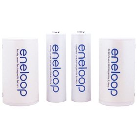 Eneloop c spacer 4pack ready to use rechargeable battery