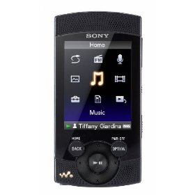 Sony Walkman S-540 Series 8 GB Video MP3 Player (Black)
