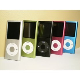 8 Gb Mp4 2nd Generation Mp3 / Mp4 Player 1.8 Inch LCD Screen 5 Cool Colors!