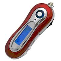 MP3 Music Player (1 GB) with FM Tuner-RED