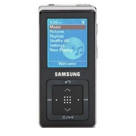 Samsung YP-Z5ZB 1 GB Digital Audio Player (Black)
