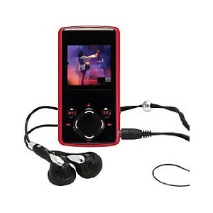 Nextar 8 GB MP3/MP4 Player (Red)