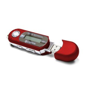 Centon 2GBMP3-003 2GB moVex MP3 Player (Red)