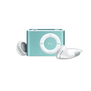 Apple iPod shuffle 1 GB Blue (2nd Generation) OLD MODEL
