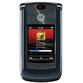 Motorola RAZR2 V8 Unlocked Phone with 2 MP Camera, and MP3/Video Player--International Version with No Warranty (Dark Pearl Grey)