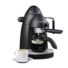 Mr coffee ecm20 black espreso capuccino maker 4cup