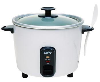 Sanyo ec310 rice cooker 10cup glass