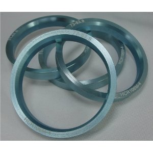 Hub Centric Rings 73.00 - 63.90 Aluminum Hubcentric
