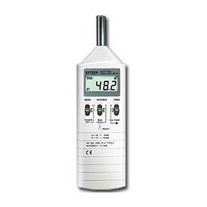 Extech Type 2 Sound Level Meter, Model# 407736