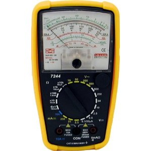 Mastech 7-Function 20-Range Analog Multimeter, 7244